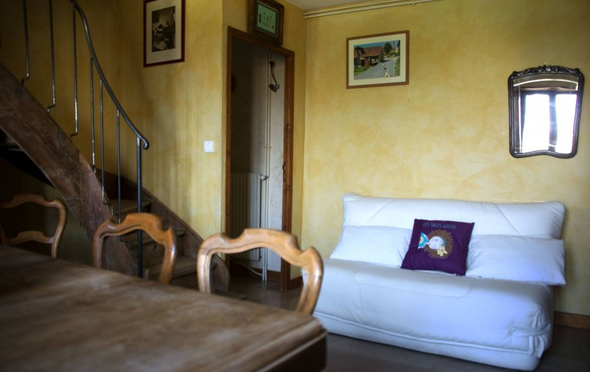 Location de vacances - Appartement à Chanaz - 2 ème couchage