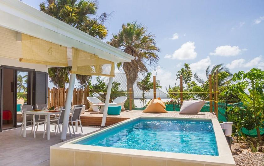 Location de vacances - Villa à Sainte-Anne - Iguane House Villas & Micro Spa Villa Passion  piscine