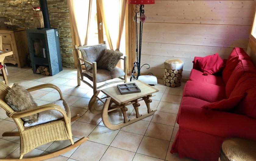Location de vacances - Chalet à La Bresse - Espace détente
