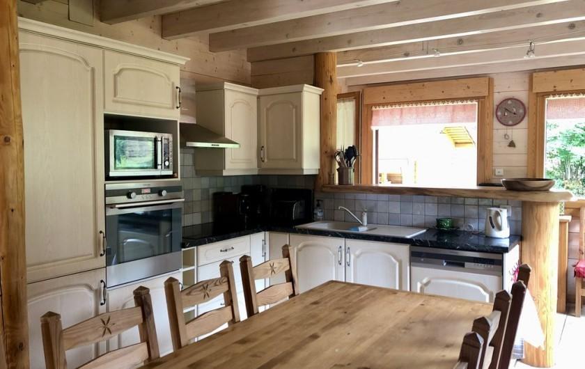 Location de vacances - Chalet à La Bresse - Espace cuisine