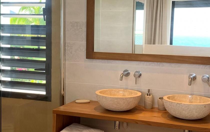 Location de vacances - Villa à Sainte-Anne - Suite 1 salle d'eau