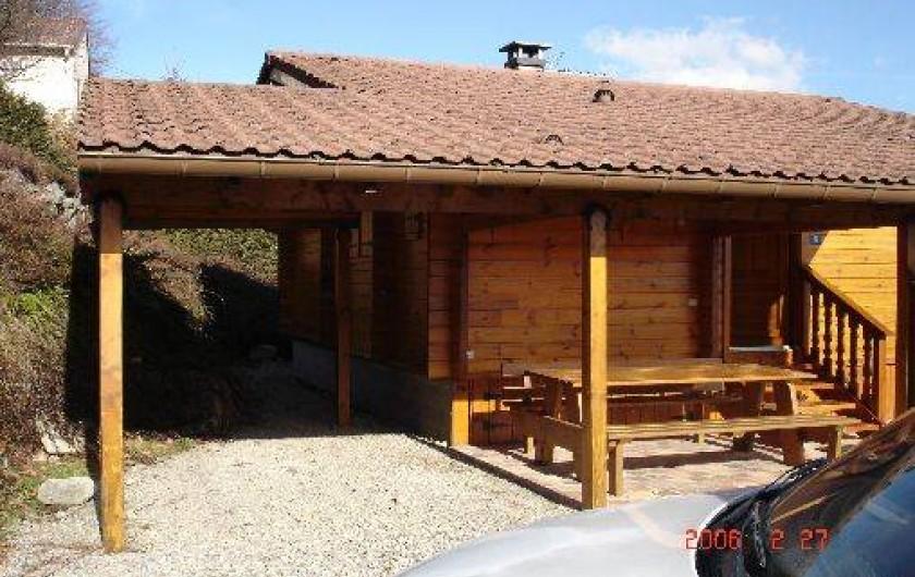 Location de vacances - Chalet à Le Menil