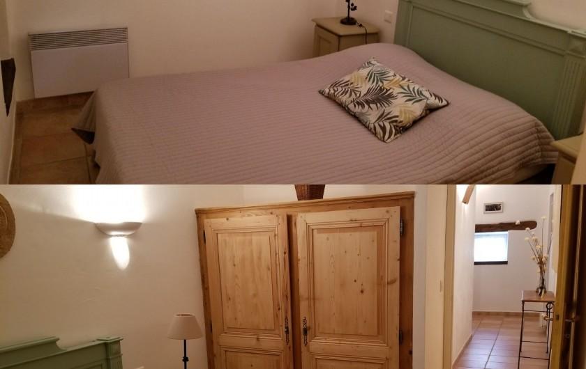 Location de vacances - Gîte à Mazan - Chambre 4 lit double