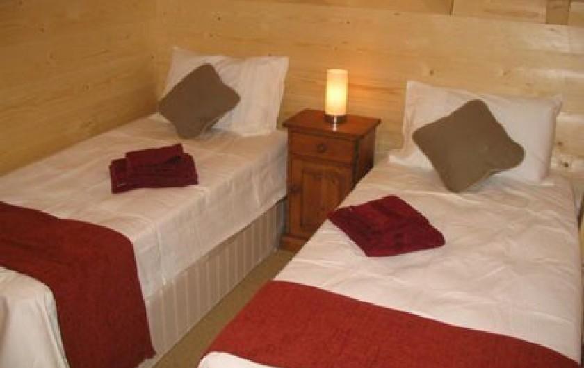 Location de vacances - Chalet à Verchaix - Mezzanine bedroom