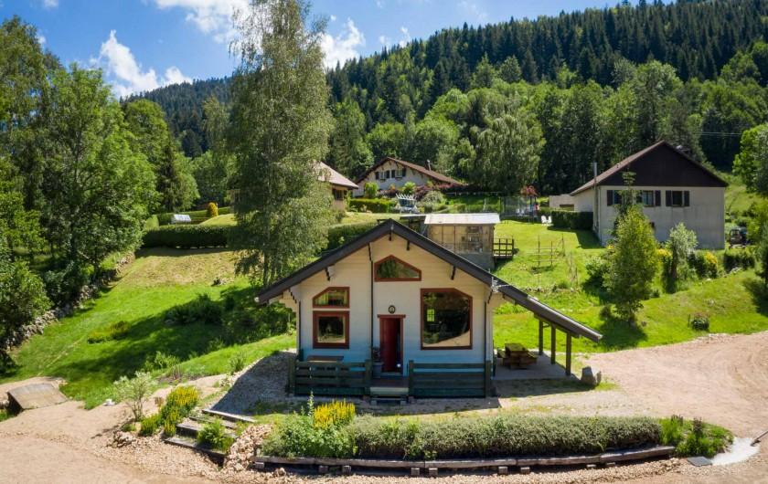 Location de vacances - Chalet à La Bresse - Aucun vis à vis en face du chalet