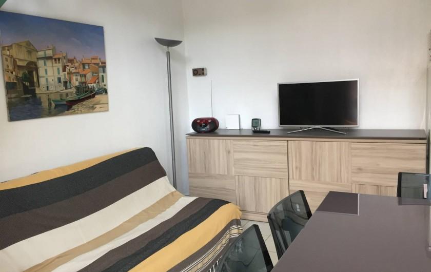 Location de vacances - Villa à Saint-Cyprien - Le séjour