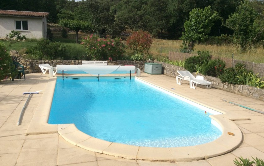 Location de vacances - Villa à Vallon-Pont-d'Arc - PISCINE