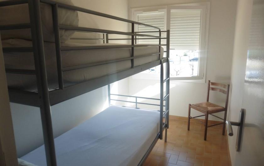 Location de vacances - Appartement à Le Grau d'Agde - petite chambre