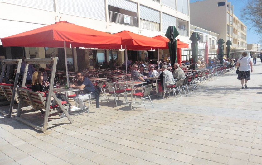 Location de vacances - Appartement à Le Grau d'Agde - bar restaurant l'horizon au mois de mars
