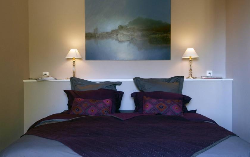 Location de vacances - Appartement à Sète - Chambre Saint Clair Lit 180 cm x 200 cm ou possibilité 2 lits jumeaux