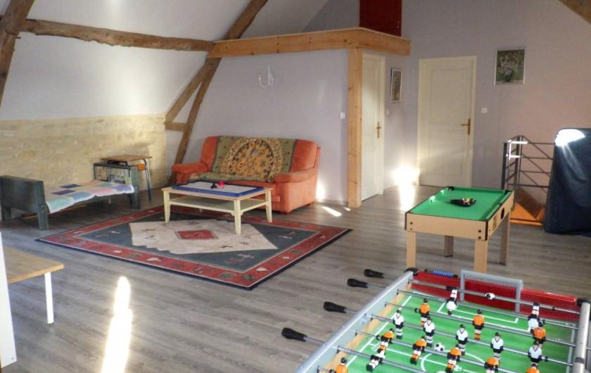 Location de vacances - Gîte à Dégagnac - Salle de Jeu