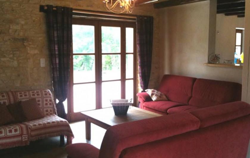 Location de vacances - Gîte à Dégagnac - Salon