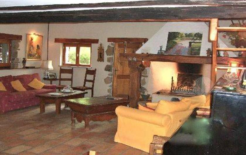 Location de vacances - Mas à Mourèze - Séjour