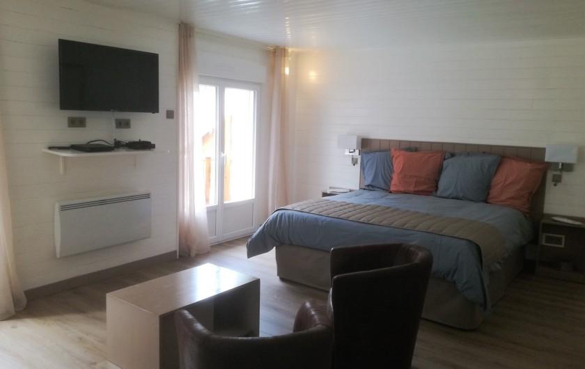 Location de vacances - Chambre d'hôtes à Lus-la-Croix-Haute - chambre Maria Deraismes