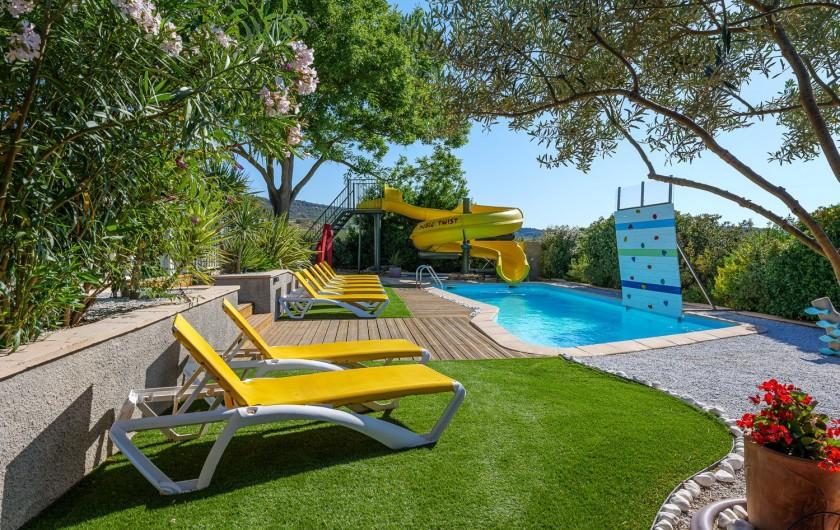 Location de vacances - Villa à Conilhac-Corbières - TOBOGGAN DUBLE TWIST