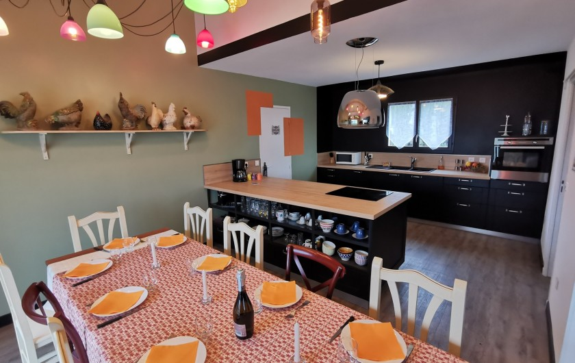 Location de vacances - Villa à Conilhac-Corbières - repas