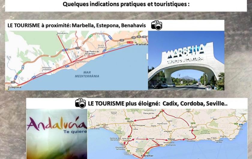 Location de vacances - Villa à Estepona - TOURISME A PROXIMITE ET ANDALOUSIE