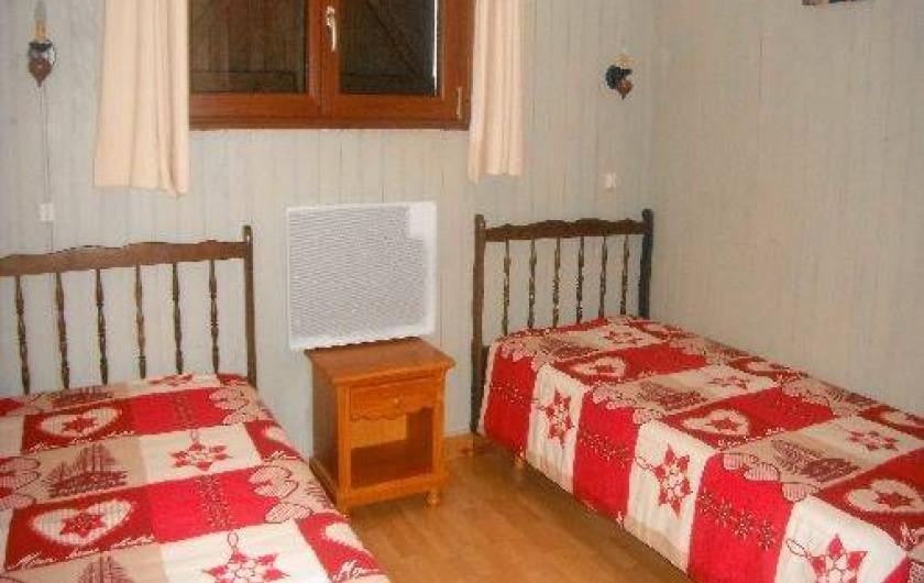 Location de vacances - Chalet à Gérardmer - chambre 2