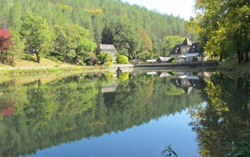 Location de vacances - Gîte à La Rouquette - Le lac