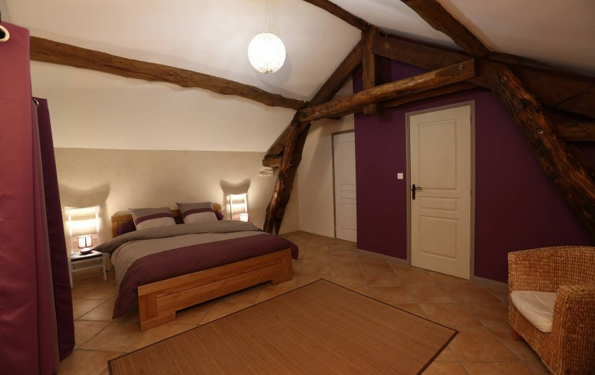 """Location de vacances - Gîte à Castanet-le-Haut - Chambre """"le Pigeonnier"""" 25m²"""