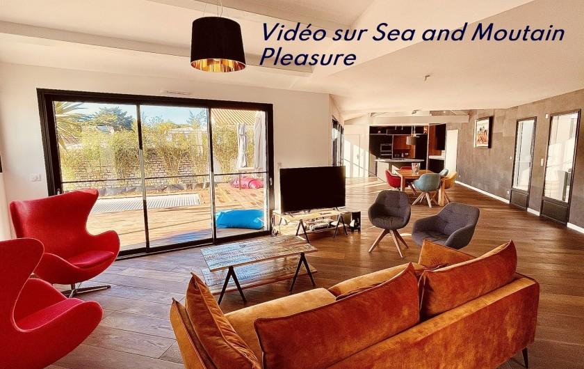 Location de vacances - Villa à Le Bois-Plage-en-Ré - Villa Bois Plage Séjour
