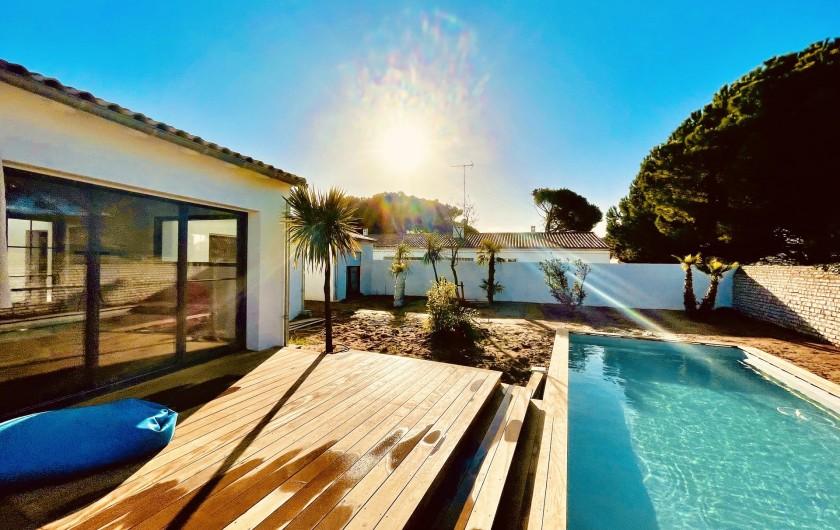 Location de vacances - Villa à Le Bois-Plage-en-Ré - Villa Bois Plage - vu de la terrasse