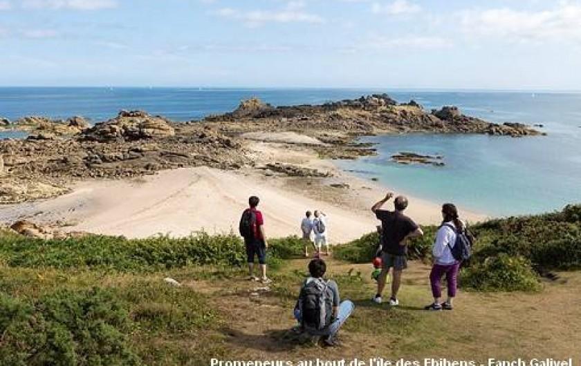 Location de vacances - Maison - Villa à Pluduno - la presqu'île des Ebihens à 10 minutes du gîte