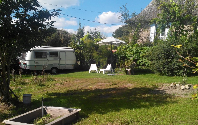 Location de vacances - Chambre d'hôtes à Marcolès - Chambre insolite Eriba