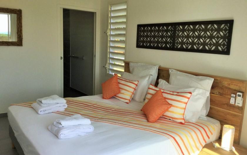 Location de vacances - Villa à Sainte-Anne - Suite 2 lit 160 x 200