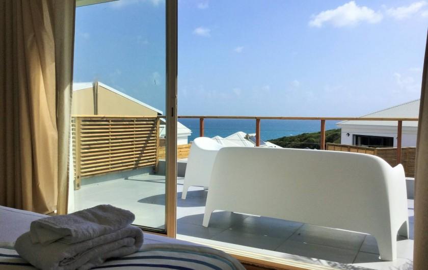 Location de vacances - Villa à Sainte-Anne - Suite 3 étage vue mer