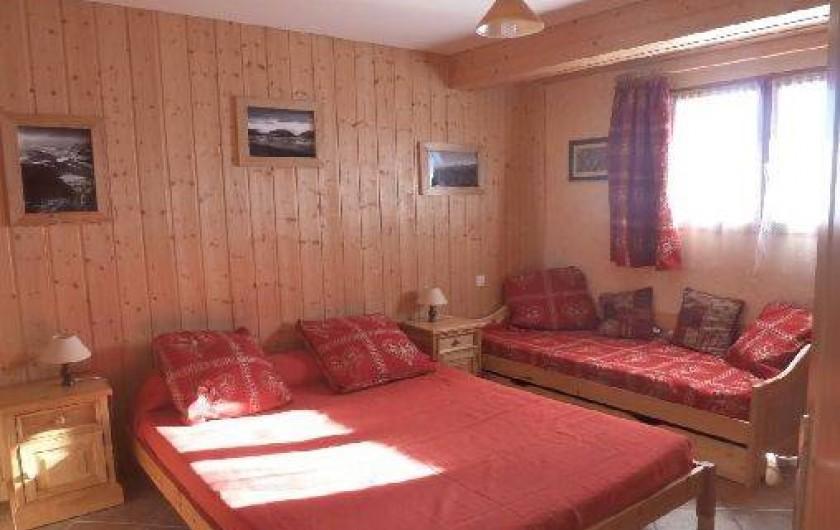 Location de vacances - Appartement à La Toussuire - chambre parentale