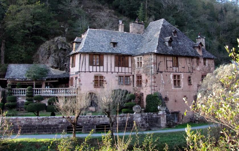 Location de vacances - Gîte à Saint-Cyprien-sur-Dourdou - Moulin de Sanhes (Saint-Cyprien)