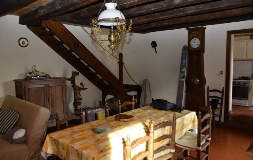 Location de vacances - Gîte à Saint-Cyprien-sur-Dourdou - Séjour