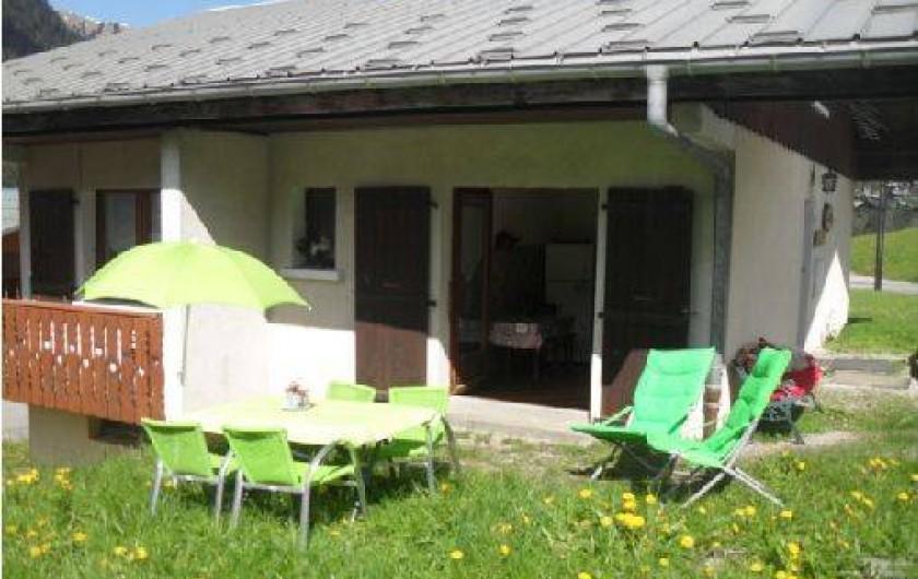 Location de vacances - Chalet à Châtel