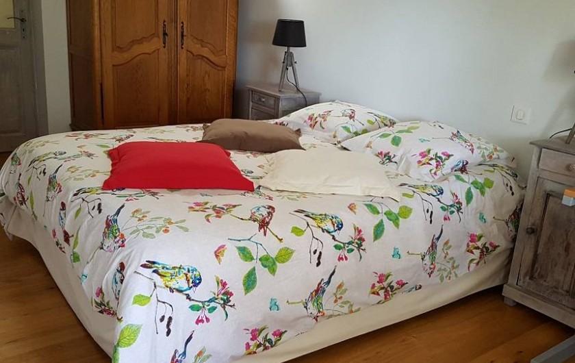 Location de vacances - Gîte à Lassouts - suite chambre principale
