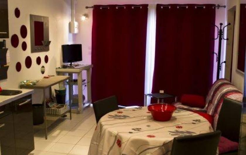 Location de vacances - Appartement à Pomérols