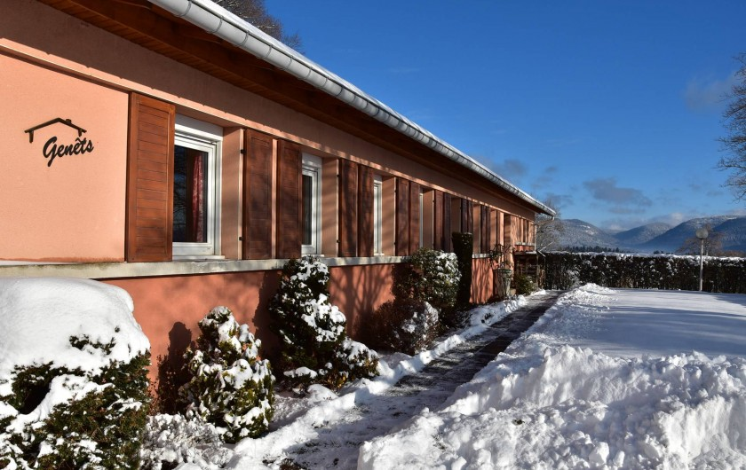 Location de vacances - Chalet à Senones - GENETS : un chalet pour 14 personnes -