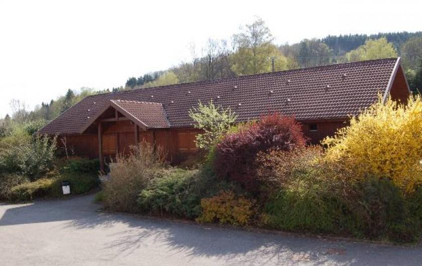 Location de vacances - Chalet à Senones - Chalet SOYOTTE - 6 chambres - 6 sanitaires dont 3 pour PMR - 18 personnes