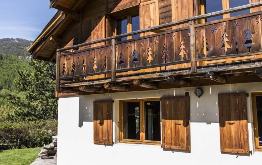 Location de vacances - Chalet à Saint-Chaffrey - Le Jacuzzi