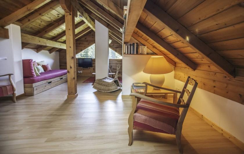 Location de vacances - Chalet à Saint-Chaffrey - Le deuxième salon