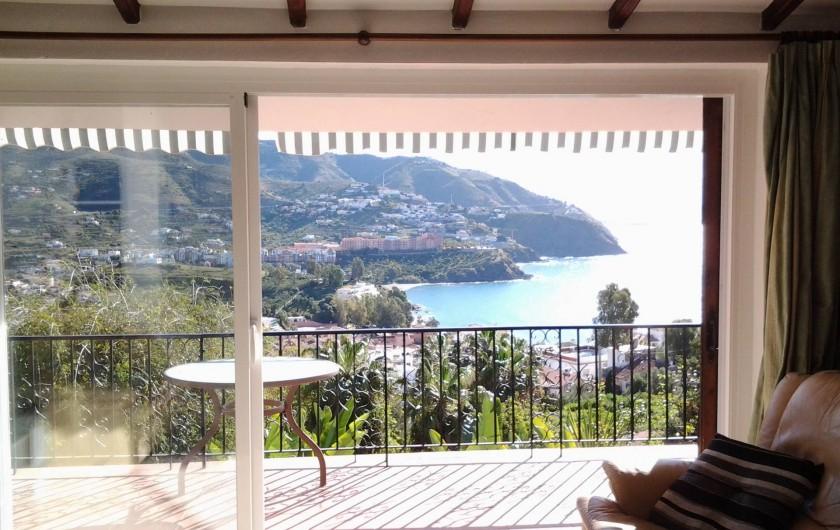 Location de vacances - Villa à Almuñécar - vue du salon