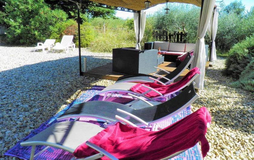 Location de vacances - Villa à Saint-Michel-d'Euzet