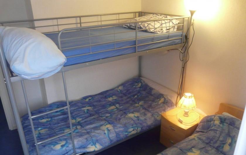 Location de vacances - Villa à Vaison-la-Romaine - chambre pour les enfants pouvant recevoir 3 jeunes enfants, 3 couchages.