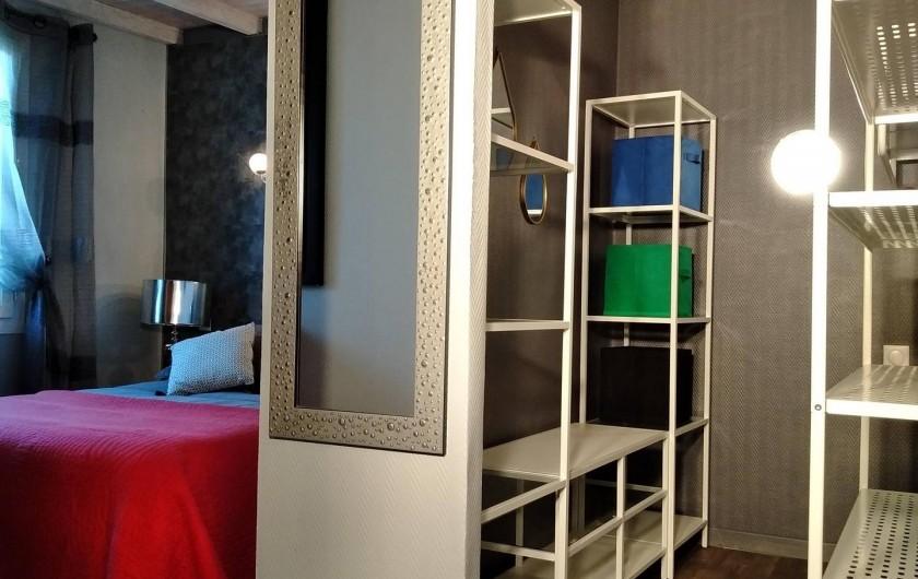 Location de vacances - Villa à Labenne - Dressing chambre 1
