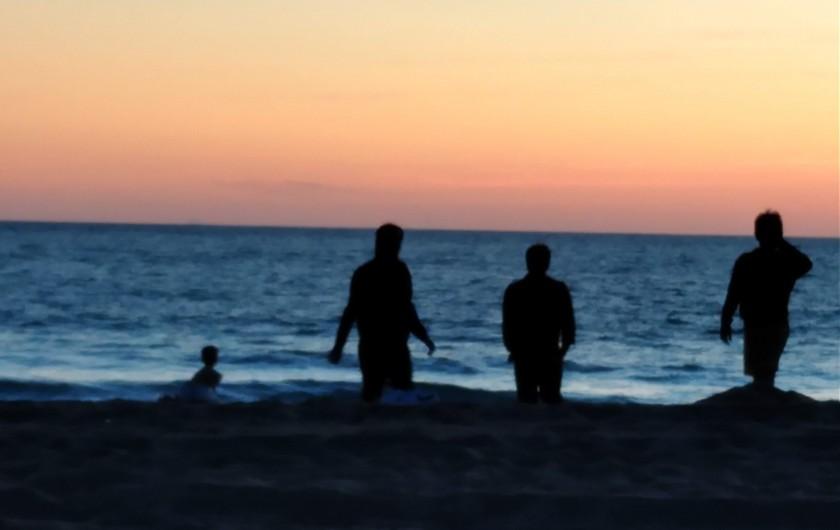 Location de vacances - Villa à Labenne - Petit salon chambre parentale