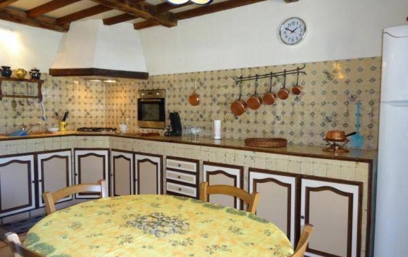 Location de vacances - Maison - Villa à Venes - La cuisine