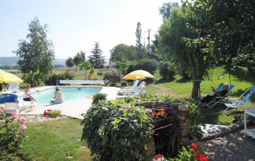 Location de vacances - Maison - Villa à Venes - Jardin et piscine