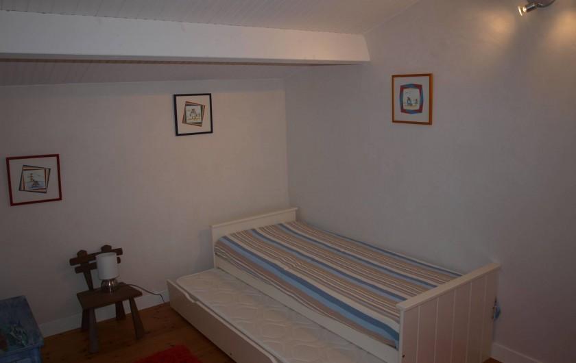 Location de vacances - Appartement à Brem-sur-Mer - chambre étage 4 couchages