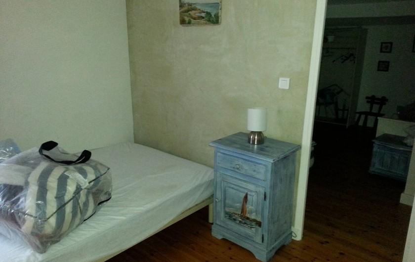 Location de vacances - Appartement à Brem-sur-Mer - couchage mezzanine