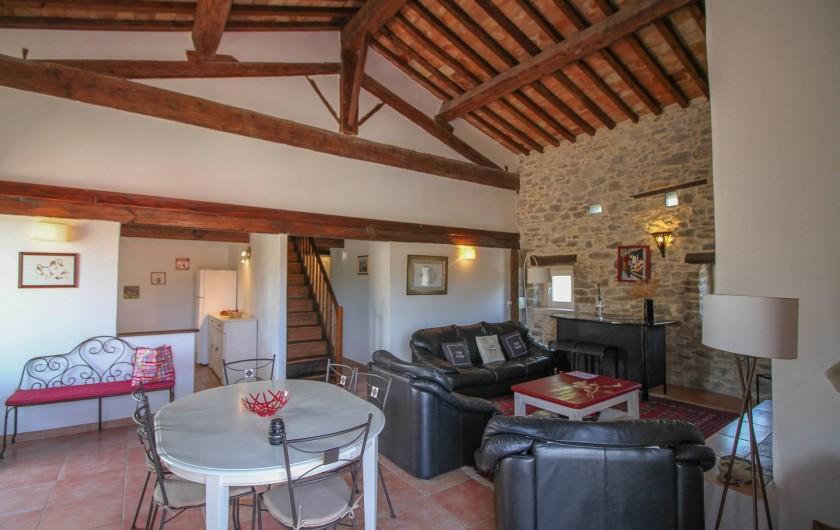 Location de vacances - Appartement à Saint-Hippolyte-du-Fort - Le Salon